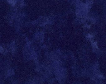Moda Marbles flannel in an Indigo blue.