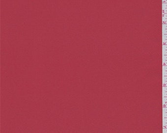 Poppy Red Taffeta, Fabric By The Yard