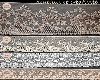 10 m Thisextencil lace from the 50s for l beautiful creations
