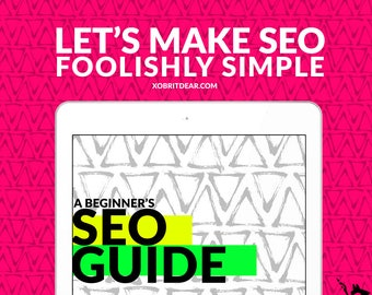 Printable SEO Worksheet - seo for listings - seo for wordpress - seo help - seo printable - search engine optimization