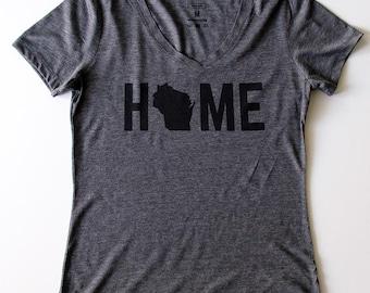 T-Shirt - Wisconsin HOME Women's Tee
