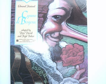 Cyrano de Bergerac.  Classics Illustrated #21 comic book published 1991.
