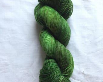 Army Dreamers. Hand dyed yarn, super sock, superwash merino and nylon 100g