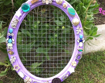 Upcycled and Repurposed Earring Holder