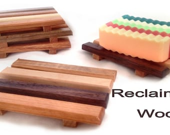 20 reclaimed wood soap dishes - 1.60 each - Handmade in Portland, OR USA