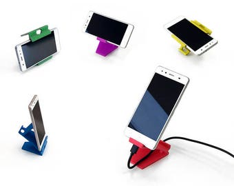 Cell Phone Stand   Tablet Stand   3D printed   iPhone Stand   iPad Stand   Docking Station   Phone Stand Holder   Charging Station   Phone  