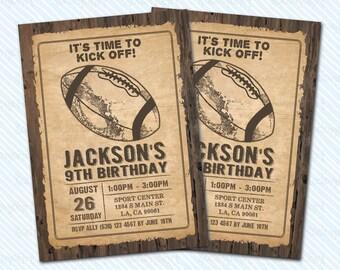 Digital Printable Baseball Birthday Invitation. sports birthday