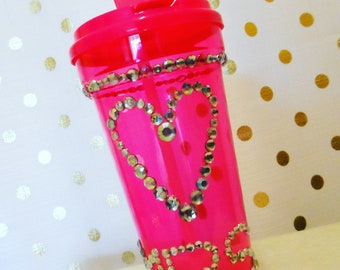 NEW! Hot Pink MRS tumbler - One of a kind
