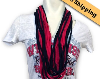 Light Scarf layered scarf Necklace Scarf Women Scarf Infinity Scarf soft Scarf Loop Scarf Summer Scarf Team Scarf