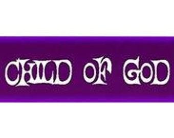 C41 - Child Of God Flower - CTR