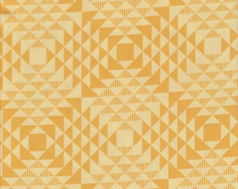 Atrium collection by Joel Dewberry - Free Spirit - Pattern Pyramids, Color Goldenrod or Yellow