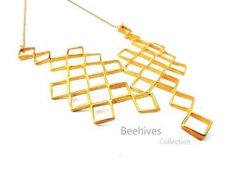 Beehives Necklace