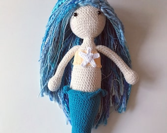 Crochet 'Lorelei' Mermaid Pattern