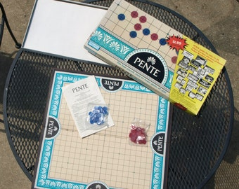 Pente Board Game No. 0039 - Parker Brothers 1989
