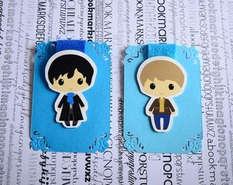 Sherlock Watson magnetic bookmark