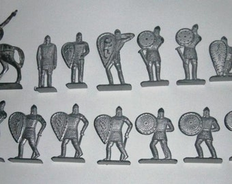 """Metal soldiers of the USSR. Soldiers """"Don Hike"""". Toys of the USSR."""