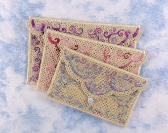 Lace Envelopes in 3 Sizes