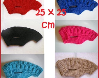 Coat / sweater for very small dog 25cm - 25 x 25 cm back