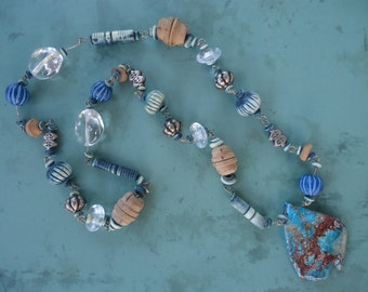 Imperial Jasper Beaded Necklace