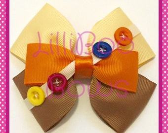 Handmade Russell Up! Inspired Hair Bow Clip