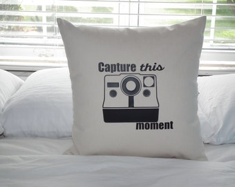 Capture This Moment Throw Pillow