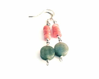 Dainty dangle earrings. Free shipping within the USA.