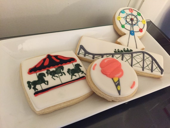 Amusement Park Cookies