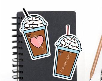 SALE Planner Die Cuts Printable, Coffee Die Cuts, Mocha Coffee Die Cuts, Food Die Cuts, Scrapbook Die Cuts, Planner Accessories - Office