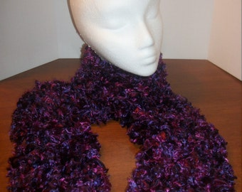Knit Long Thick Scarf (A22)