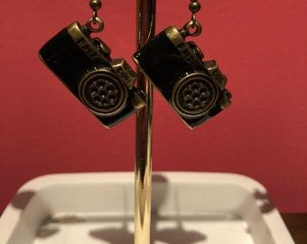 Camera earrings ;)