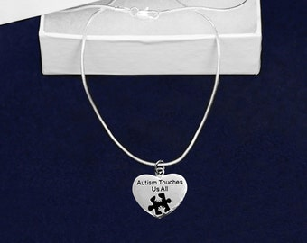 Autism Touches Us All Necklace (RE-NCHARM1AT)