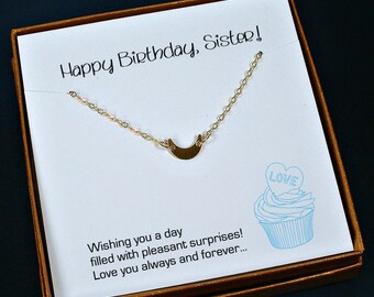 Sister Birthday Gift, Sister Necklace, Sister Gift Ideas, Sister Jewelry Gift, Unique Gifts for Sisters, Gift for Sister Jewelry, Sister