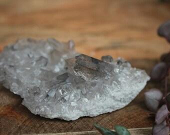 Silver quartz cluster