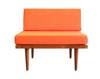 """Mid Century Modern Slipper Chair (""""Classic Chair"""")"""