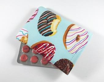 Donuts Birth Control Pill Case, Birth Control Pill Sleeve, Birth Control Pill Holder