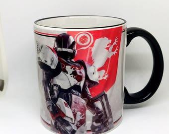 Custom Made Destiny 2 The Titan Coffee Mug 15oz and 11oz Personalized