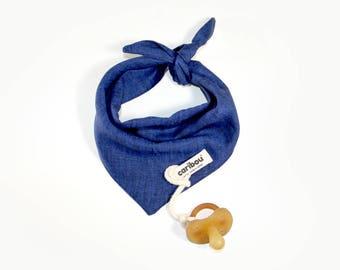 Kids & baby linen bandana | 5 colors available