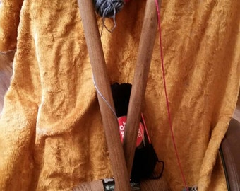 Pair of Giant Knitting Needles