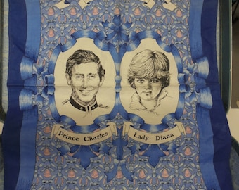 Royal Wedding Commemorative linen 1981