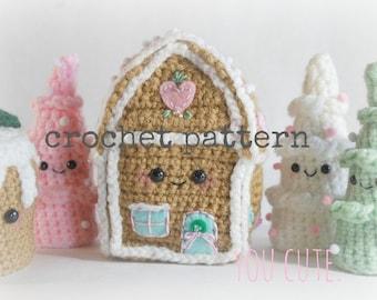 CROCHET PATTERN- Amigurumi Winter Wonderland