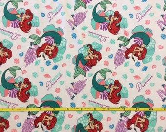 "NEW Ariel Fearless Dreamer on cotton lycra knit fabric 96/4 58"" wide."