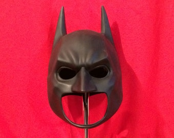 Batman The Dark Knight cowl mask Bale