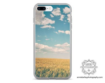 "cell phone case, iphone 6, iphone 6 plus, iphone 7, iphone case, photo art, landscape photo, landscape art, clouds - ""Spacious Skies"""