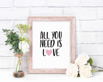 All You Need Is Love - DIGITAL DOWNLOAD