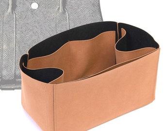 Regular Style Nubuck Leather Handbag Organizer for Garden Party