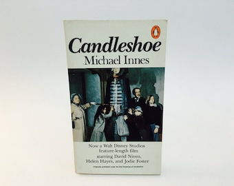 Vintage Pop Culture Book Candleshoe by Michael Innes 1978 Paperback Disney