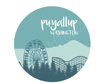 Puyallup City Tote