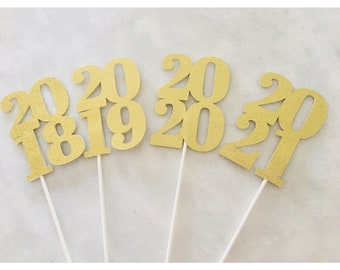 2018 Centerpiece sticks, Class of 2018, Centerpieces, 2018, Graduation Centerpiece, 2018 decoration, Graduation 2018- 4 centerpiece sticks