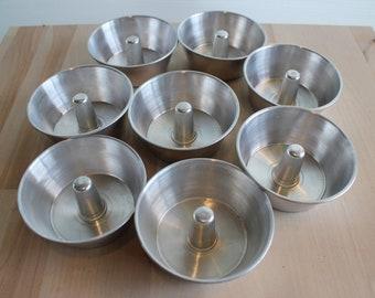 Small Bundt Pan, Miniature, Bundt, Aluminum