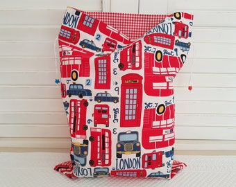 London red pouch